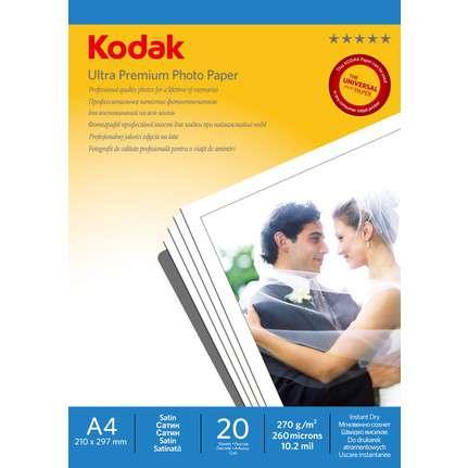 Kodak A4 Parlak Inkjet Fotoğraf Kağıdı (270 gr)