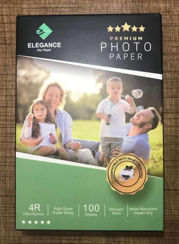 Elagans 10x15 İnjekt fotoğraf kağıdı