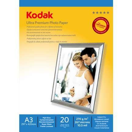 Kodak A3 Parlak Inkjet Fotoğraf Kağıdı (270 gr)