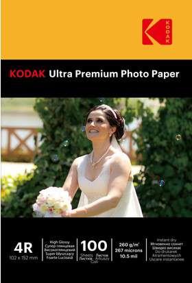 Kodak Inkjet Kağıt 4R Parlak (10x15 260 gr)