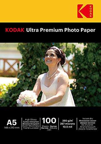 Kodak Ultra Premium A5- (15x21 260gr)